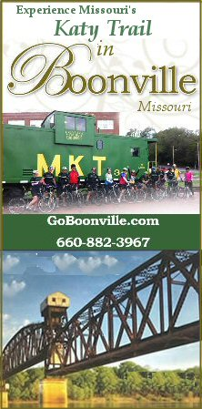 Boonville Missouri, on the Katy Trail